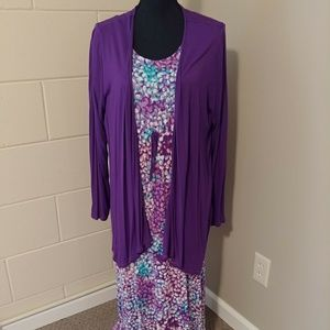 Carole Hochman 2 piece maxi dress